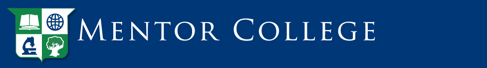 Mentor College Logo - click to go home