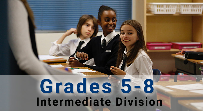 Intermediate Division, Grades 5 to 8